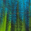 Blue, green, black abstract — Foto Stock