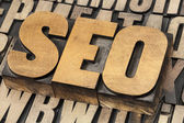 Seo - sökmotoroptimering — Stockfoto