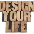 Design your life — Stockfoto
