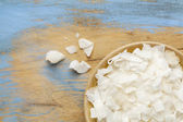 Shredded coconut flakes — Stock Photo