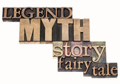 Legend, myth, story, tale — Stock Photo