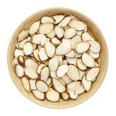 Raw sliced almond — Stock Photo