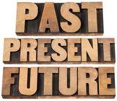 Past, present, future — Stock Photo