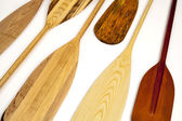 Canoe paddle abstract — Stock Photo