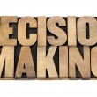 Decision making — Stock Photo
