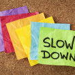 Slow down - lifestyle concept — Foto de Stock