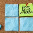 Enjoy being different — Stock Photo #26205803