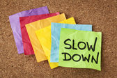 Slow down - lifestyle concept — Stock Photo