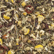Herbal tea background — Stock Photo