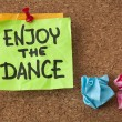 Enjoy the dance — Stock Photo
