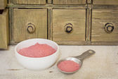 Yumberry fruit powder — Stock Photo