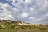 Clouds over Colorado ranch — Stock Photo