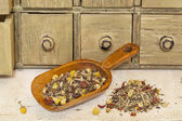 Organic herbal tea with chamomile — Stock Photo