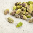 Raw pistachio nuts — Stock Photo