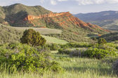 Colorado mountain ranch — Stock Photo
