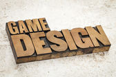 Game design — Stock Photo