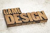 Game design — Stock Photo