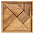 Tangram - Chinese puzzle game — Foto Stock