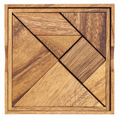 Tangram - Chinese puzzle game — Stock Photo