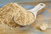 Maca root powder — Stock Photo