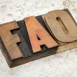 Frequently asked questions - FAQ — Foto Stock