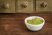 Moringa leaf powder — Stock Photo