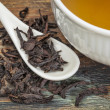 Oolong black tea — Stock Photo
