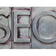 Search engine optimization) -SEO — Stock Photo