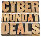 Cyber Monday deals — Stock Photo