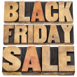 Stock Photo: Black Friday sale