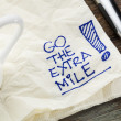 Go the extra mile — Foto Stock