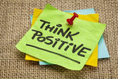 Think positive — Stock Photo