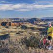 Mountain biking in Colorado — Stock Photo