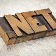 Dot net internet domain — Stock Photo
