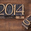 New year 2014 — Stock Photo #33023137