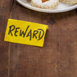 Stock Photo: Cookies as reward
