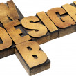 Stock Photo: Web design typography