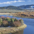 North Platte River in Colorado — ストック写真