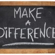 Stock Photo: Make difference