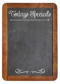 Today Specials on blackboard — Stock Photo