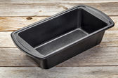 Baking loaf pan — Stock Photo