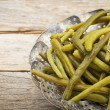 Green (French) beans steamed — Foto Stock