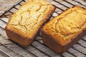 Freshly baked coconut bread — Stock Photo