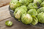 Brussels sprouts — Stockfoto