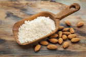 Blanched almond flour — Stock Photo