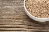 Salvado de trigo — Foto de Stock