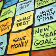 New year resolutions — Stock Photo #37702487