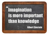 Imagination and knowledge — Stock Photo