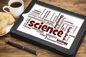 Science branches word cloud — Stock Photo