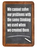 Problem solving mindset — Stockfoto